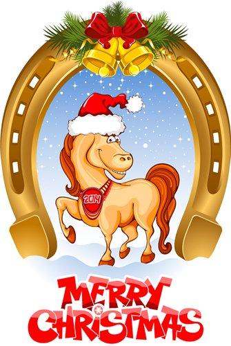 Поздравления с наступающим Новым Годом 2014. 2014 – новый год идет, Лошадка деревянная богатство принесет!