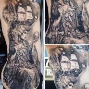 Топовый американский татуировщик Карлос Торрес Смотрите работы мастера - http://funtattoo.ru/?p=7134