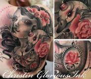 ChristinGloriousInk — живописьи татуировки Смотрите работы мастера - http://funtattoo.ru/?p=12838